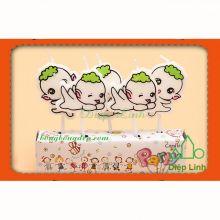 Bộ Nến Đèn Cầy Trang Trí Tiệc Sinh Nhật Ngày Lễ Baby Xanh