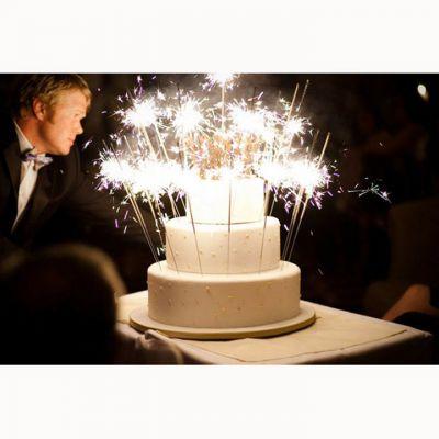 5 Pháo bông que dài 30cm cầm tay cho sinh nhật, sự kiện
