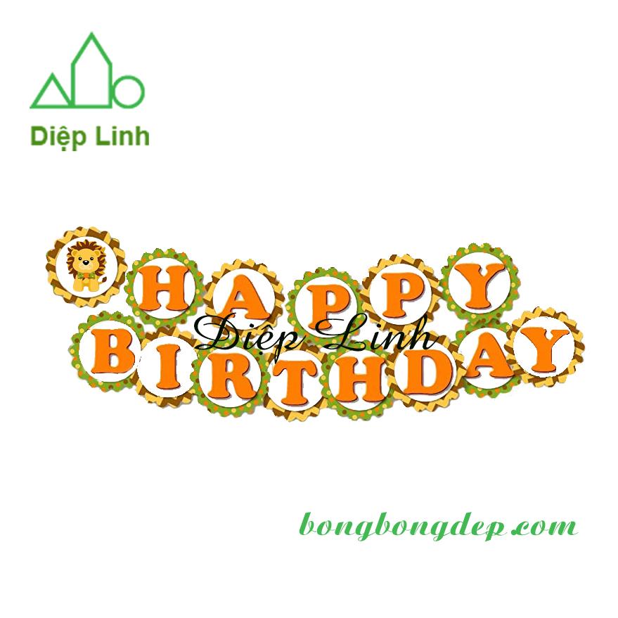 Dây treo trang trí sinh nhật happy birthday