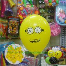 Bong bóng in hình minion trang trí sự kiện sinh nhật