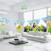 Dây trang trí sinh nhật hình thú rừng