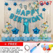 Set bong bóng trang trí sinh nhật mẫu gà 17