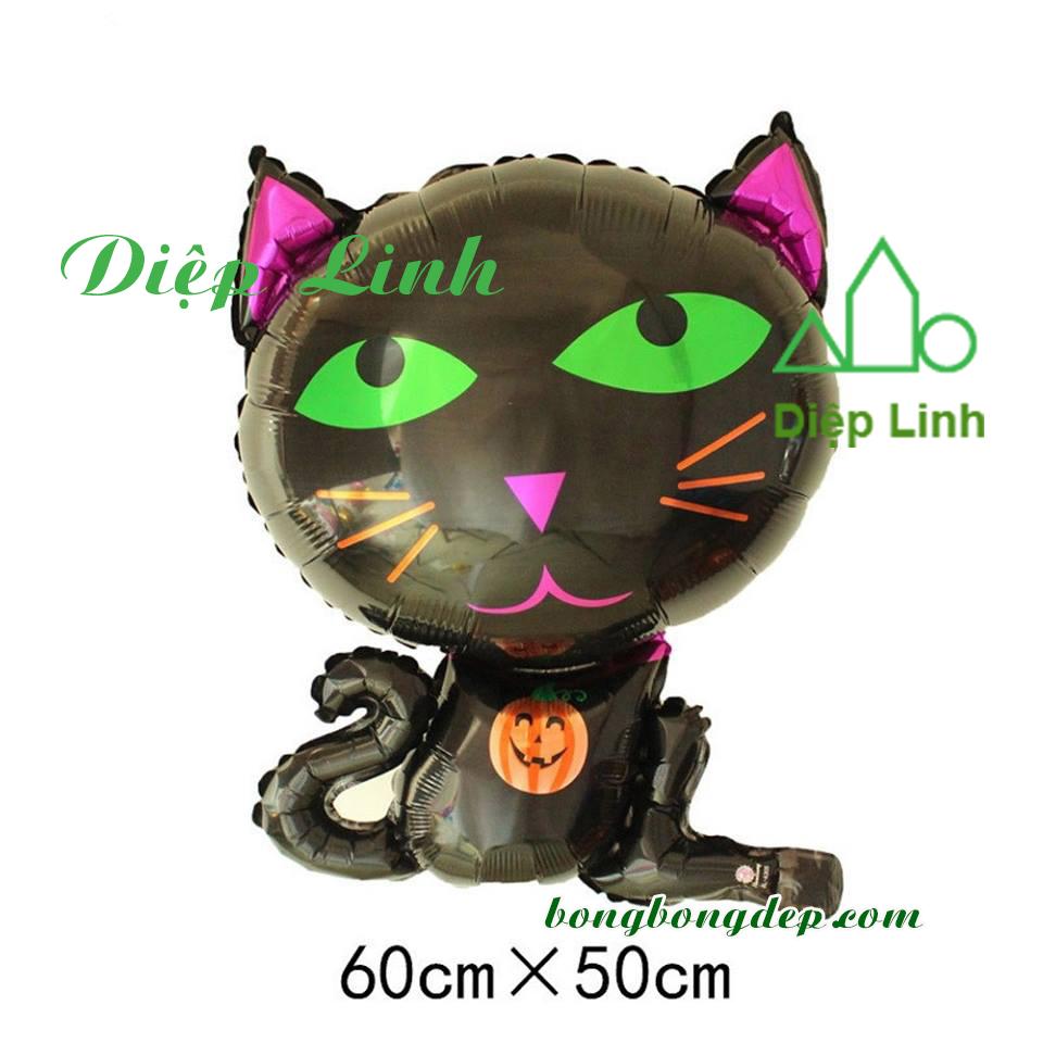 Bong bóng trang trí lễ hội Halloween-Mèo đen