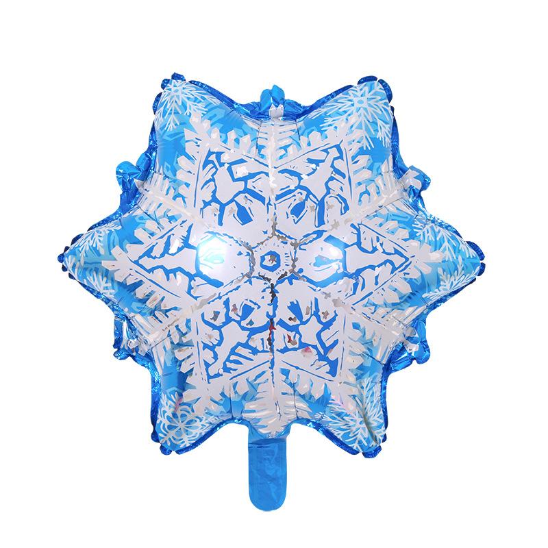 Bóng trang trí giáng sinh bông tuyết