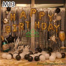 Sét bóng trang trí sinh nhật mẫu hot M13