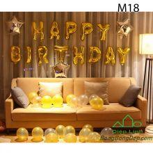 Sét bóng trang trí sinh nhật mẫu hot M18