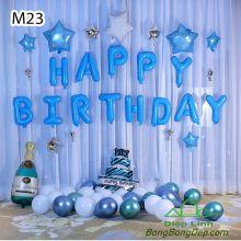 Sét bóng trang trí sinh nhật mẫu hot M23