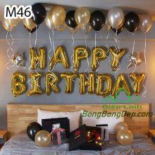 Sét bóng trang trí sinh nhật mẫu hot M46