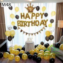 Sét bóng trang trí sinh nhật mẫu hot M48
