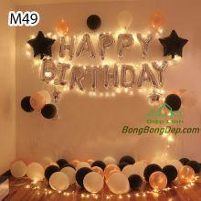 Sét bóng trang trí sinh nhật mẫu hot M49