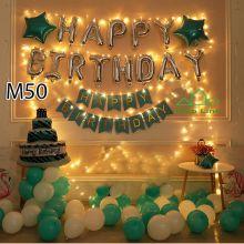 Sét bóng trang trí sinh nhật mẫu hot M50