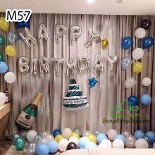Sét bóng trang trí sinh nhật mẫu hot M57