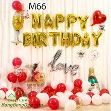 Sét bóng trang trí sinh nhật mẫu hot M66