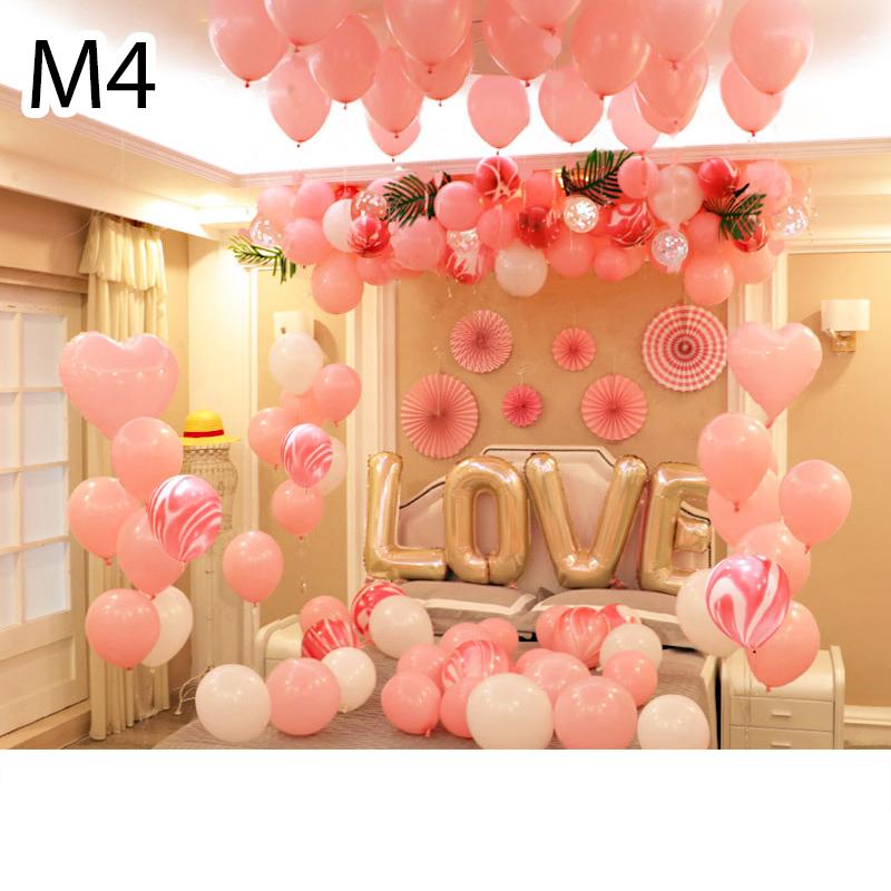 Sét bóng trang trí sinh nhật mẫu hot M4