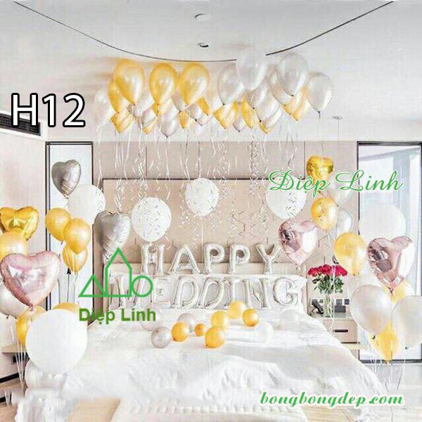 Sét bóng trang trí sinh nhật mẫu hot SBCH12