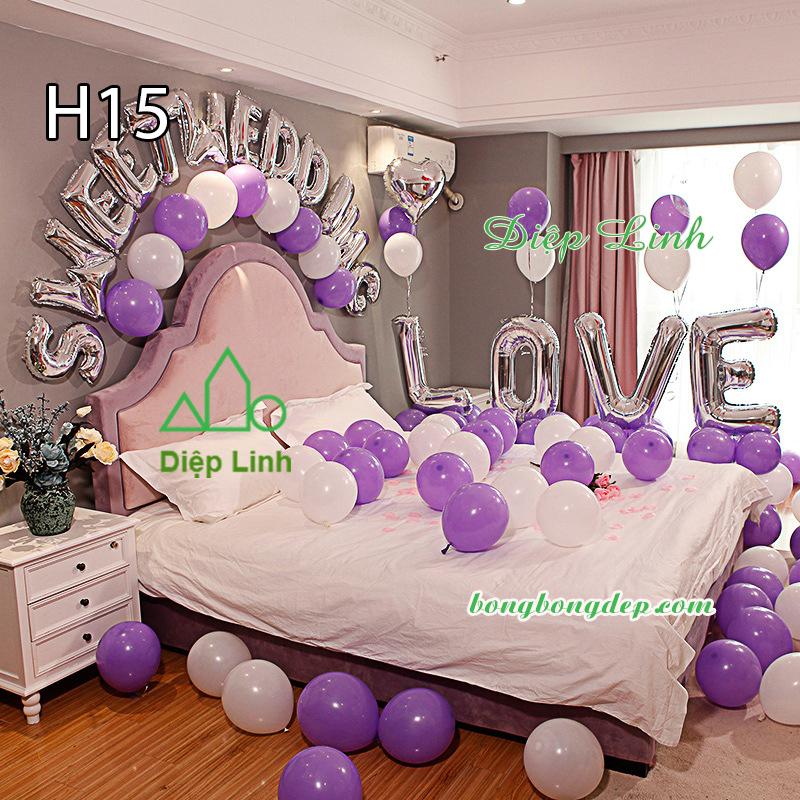 Sét bóng trang trí sinh nhật mẫu hot SBCH15