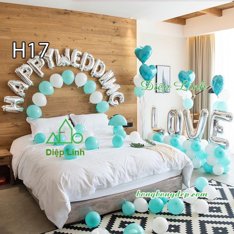 Sét bóng trang trí sinh nhật mẫu hot SBCH17