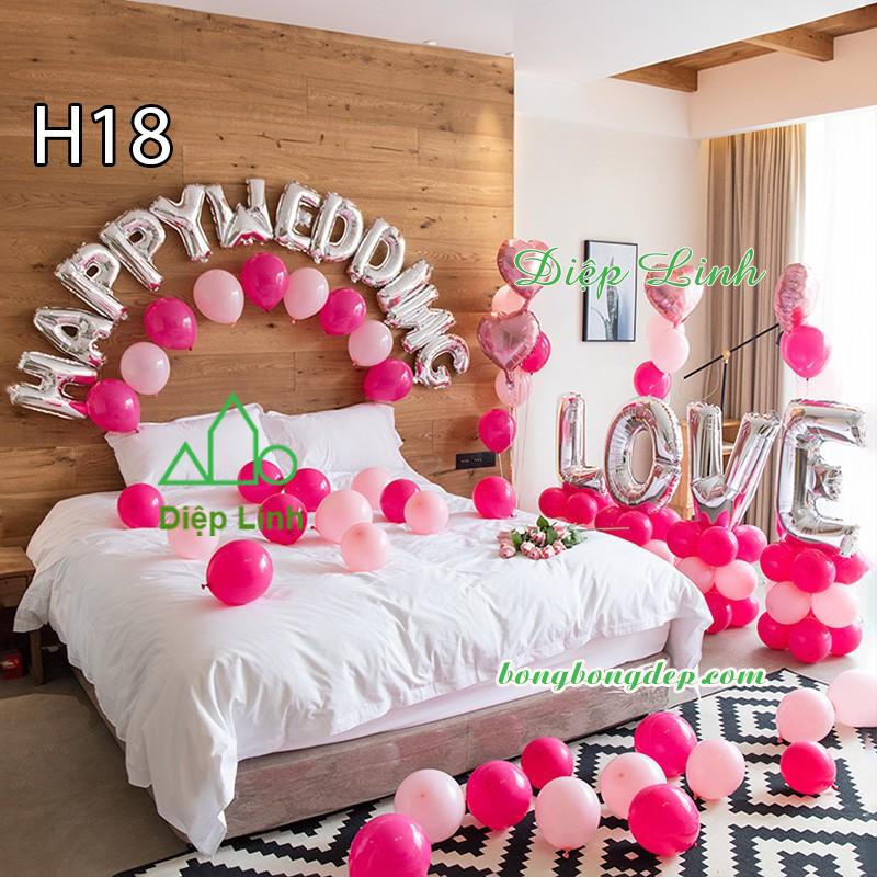 Sét bóng trang trí sinh nhật mẫu hot SBCH18