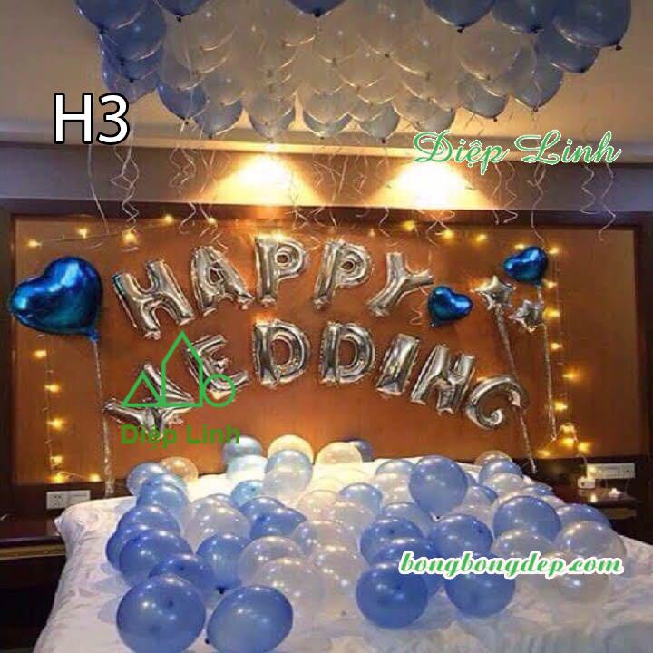 Sét bóng trang trí sinh nhật mẫu hot SBCH3