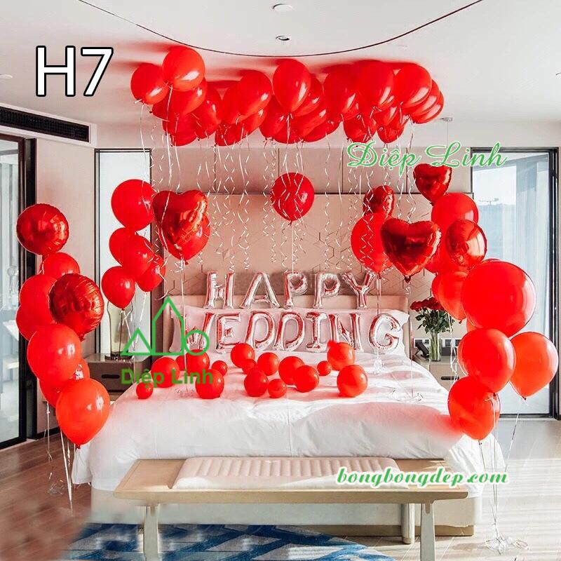 Sét bóng trang trí sinh nhật mẫu hot SBCH7