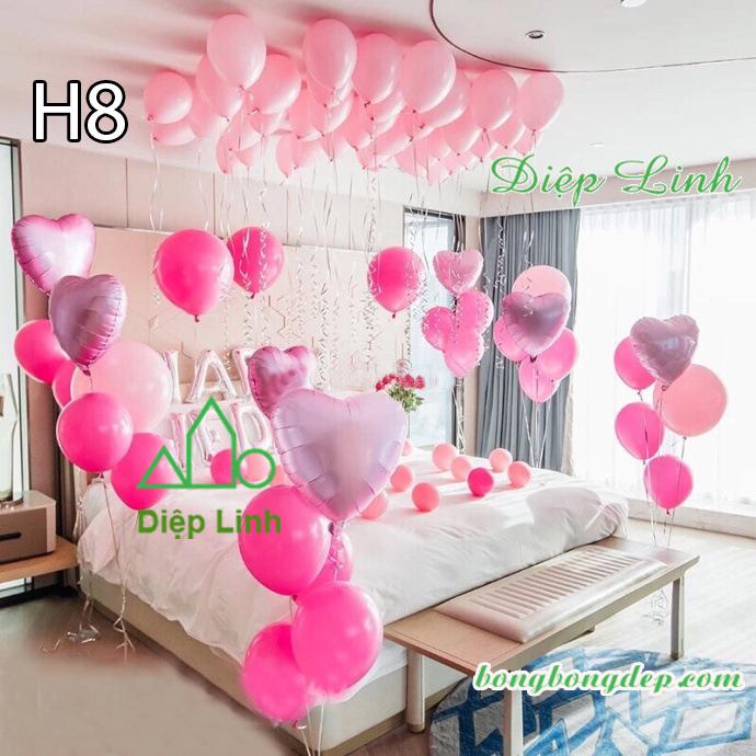 Sét bóng trang trí sinh nhật mẫu hot SBCH8