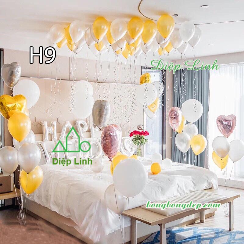 Sét bóng trang trí sinh nhật mẫu hot SBCH9