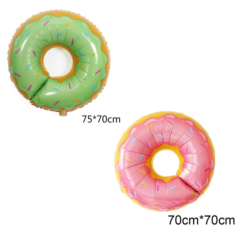 Bong bóng kiếng tráng nhôm trang trí hình bánh Donut