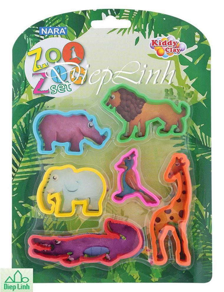 Khuôn đất nặn vườn thú MO-ZOO