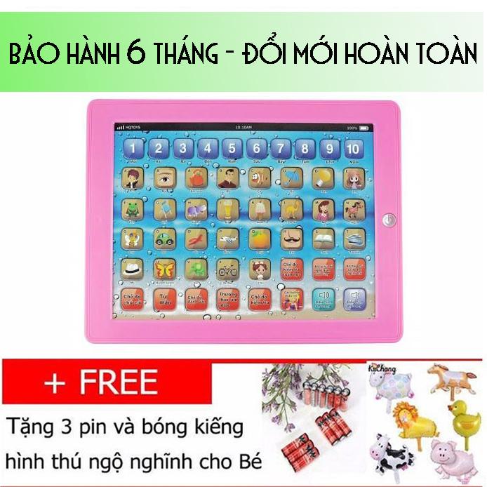 Máy tính bảng Việt Nam 10 inch cho trẻ em học tập thông minh màu hồng