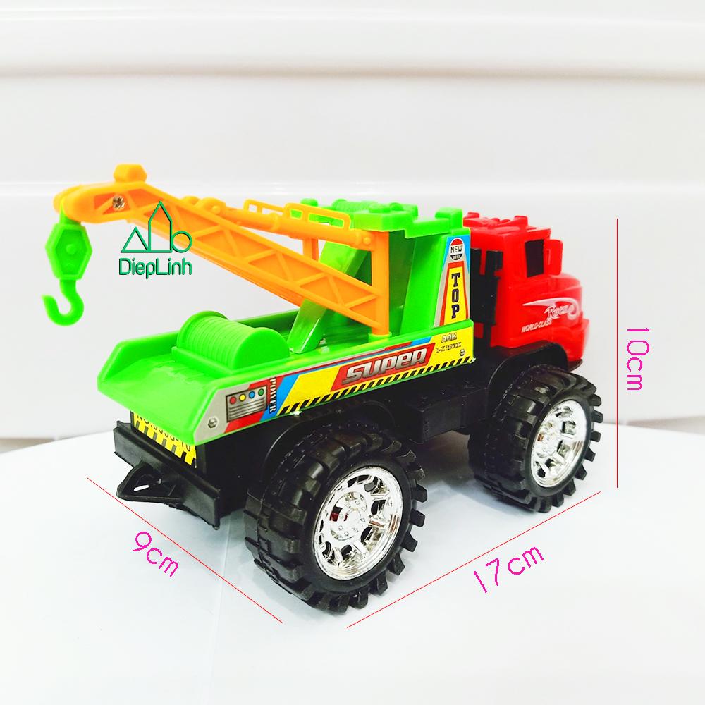 Xe mô hình đồ chơi xe xây dựng xe cẩu