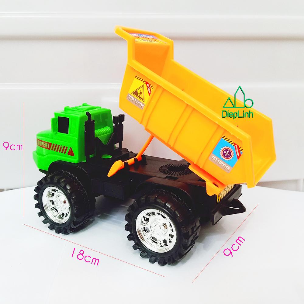 Xe mô hình đồ chơi xe xây dựng xe tải