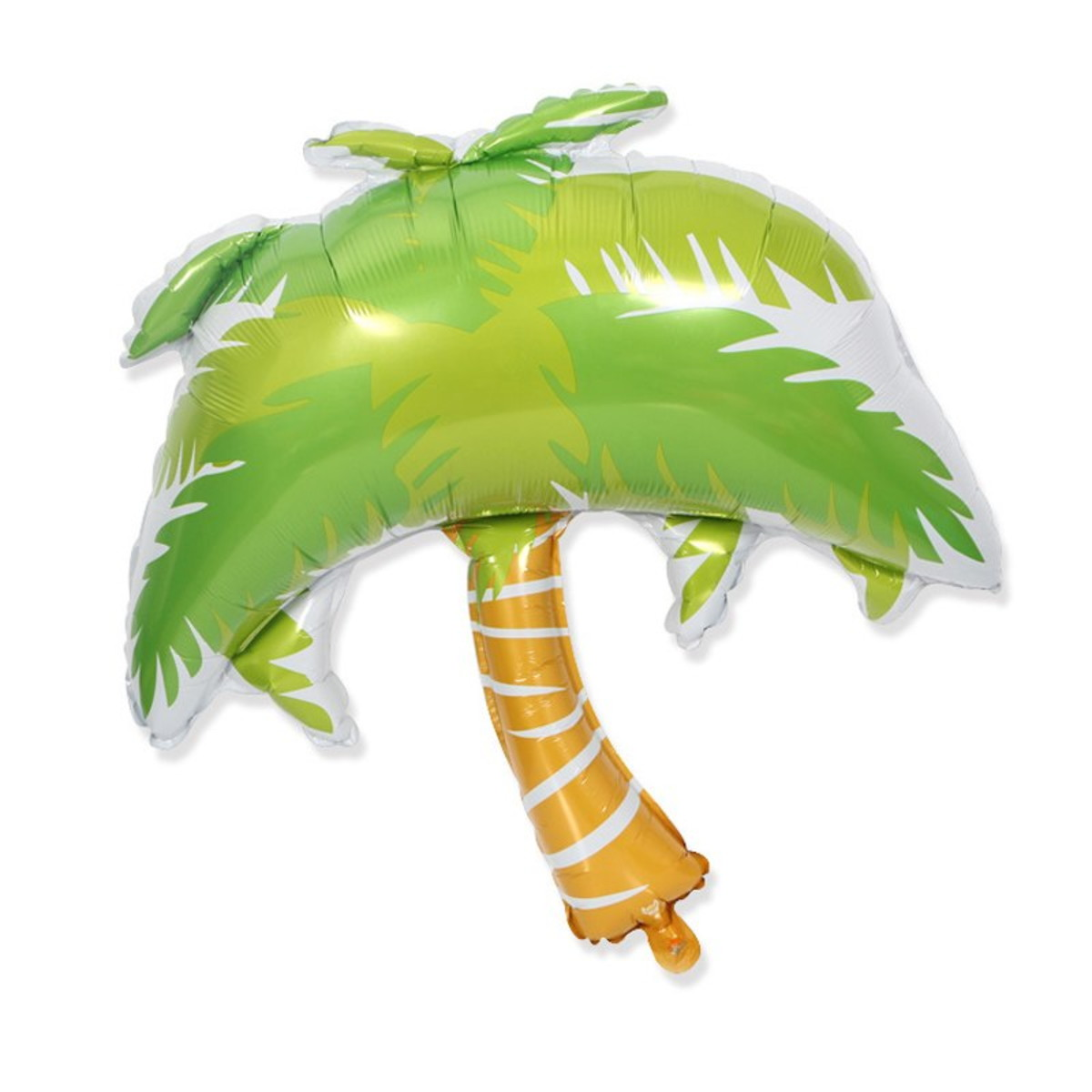 Bong bóng kiếng tráng nhôm trang trí cây dừa