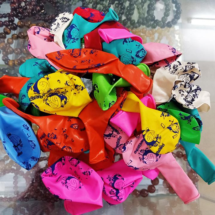 50 bóng in hình Doremon nhiều màu