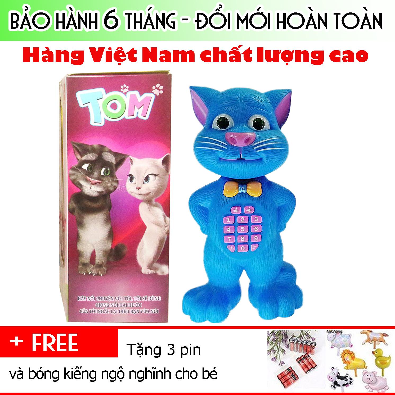 Mèo Tom Thông Minh Biết Kể Chuyện Xanh Dương