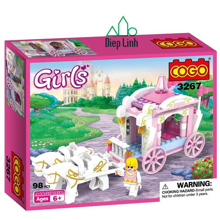 Bộ đồ chơi lắp ghép thành phố 98 chi tiết