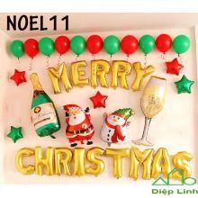 Sét Phụ Kiện Trang Trí Chủ Đề Noel11