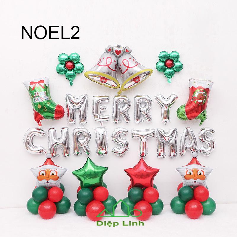 Sét Phụ Kiện Trang Trí Chủ Đề Noel2