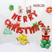 Sét Phụ Kiện Trang Trí Chủ Đề Noel20