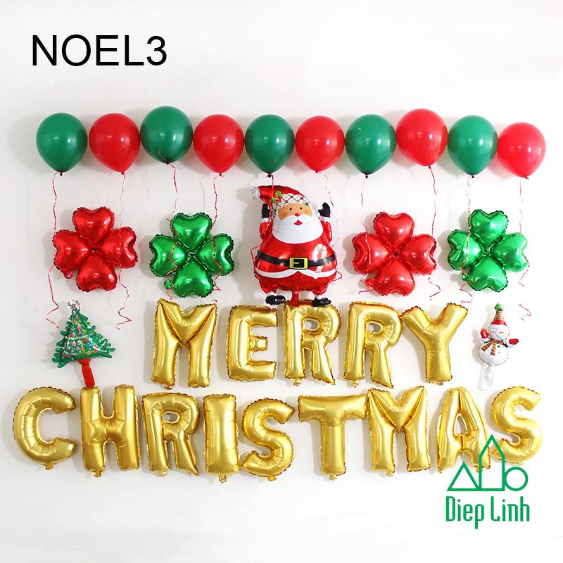 Sét Phụ Kiện Trang Trí Chủ Đề Noel3