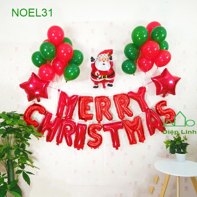Sét Phụ Kiện Trang Trí Chủ Đề Noel31