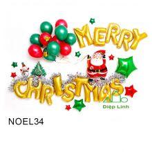 Sét Phụ Kiện Trang Trí Chủ Đề Noel34