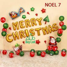 Sét Phụ Kiện Trang Trí Chủ Đề Noel7