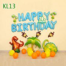 Sét bóng trang trí khủng long KL13