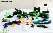 Mô Hình Lính Nhựa - Túi Lính Đồ Chơi - Đồ Chơi Quân Đội