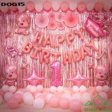Sét Bóng sinh nhật Cún Chó Cứu hộ DOG15