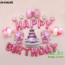 Sét Bóng sinh nhật Cún Chó Cứu hộ DOG6
