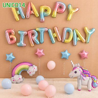 Set bóng trang trí sinh nhật ngựa Pony UNICO14