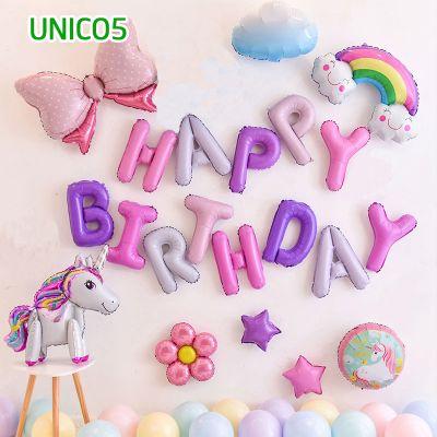 Set bóng trang trí sinh nhật ngựa Pony UNICO5